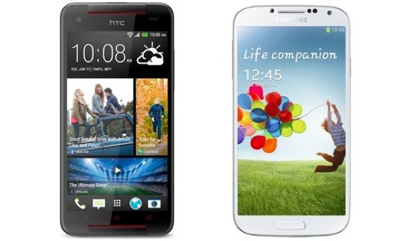 HTC Butterfly S vs Samsung Galaxy S4 in specs shootout