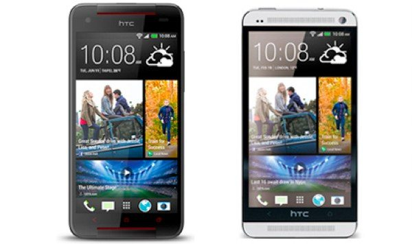 HTC Butterfly S vs HTC One video comparison
