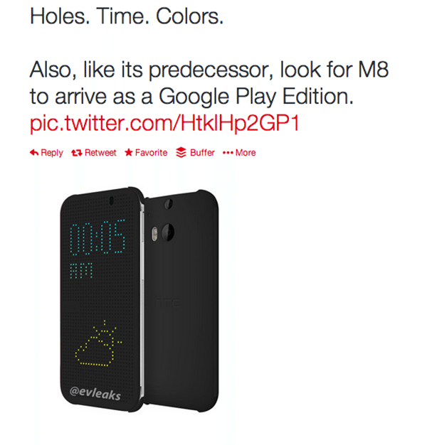 htc m8 case leak