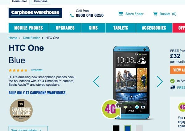 htc-one-blue-now-in-uk
