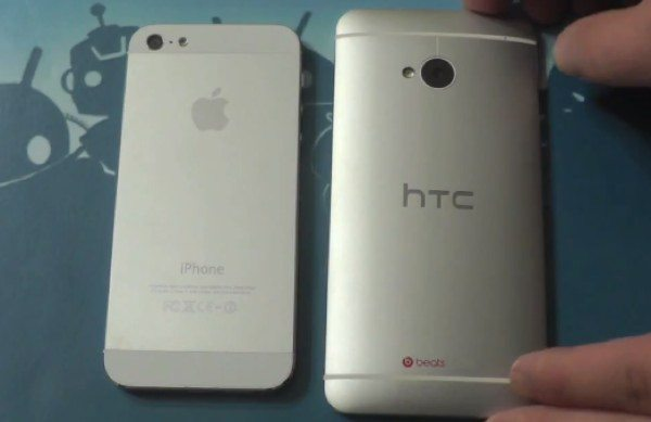 HTC One vs iPhone 5 Lookalike Accusations, Video Shows Differences
