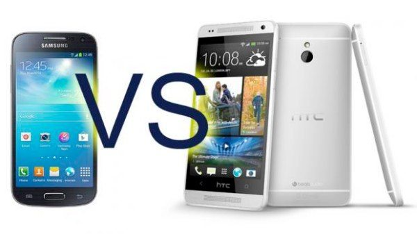 HTC One, Samsung Galaxy S4 in the Mini debate
