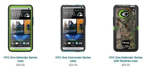 Best HTC One cases include choices from Otterbox