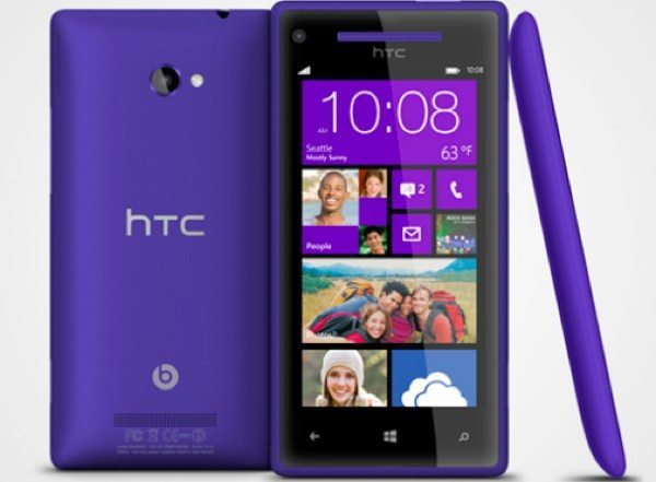 Verizon HTC 8X Windows Phone receives GDR3 update changes