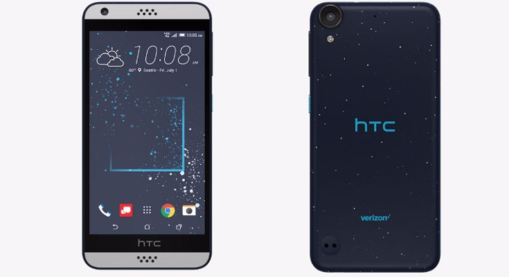 HTC Desire 530 available to purchase through Verizon