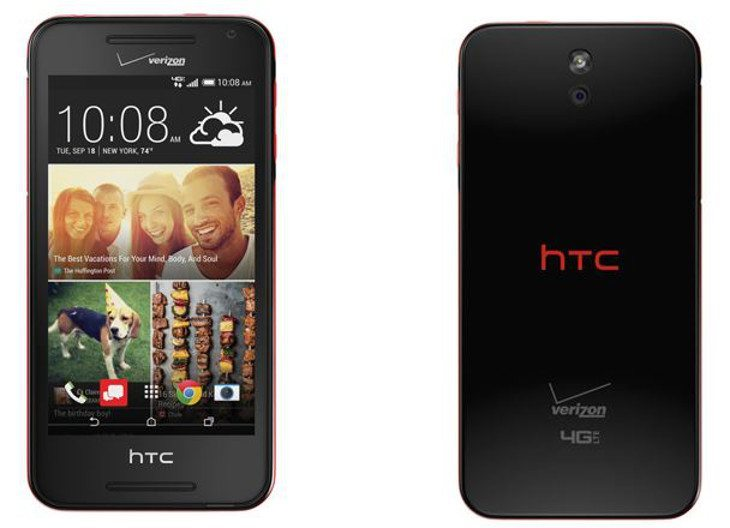 The HTC Desire 612 is coming to Verizon October 9th