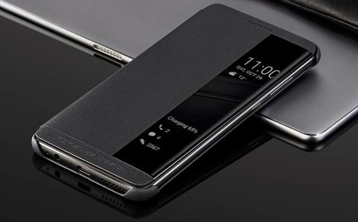 Porsche Design Huawei Mate 9: Smartphone With Rounded Edges