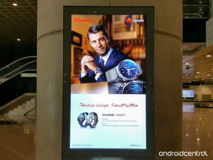 Sleek Huawei Smartwatch spotted before MWC