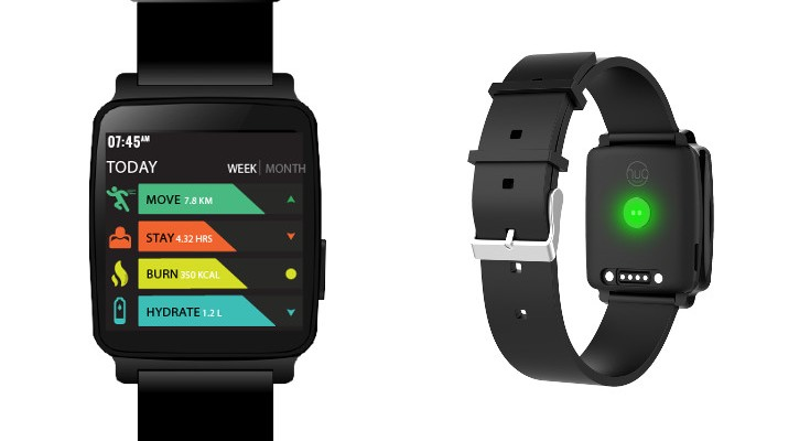 The Hug Smartwatch is built on Azure with Gesture Controls