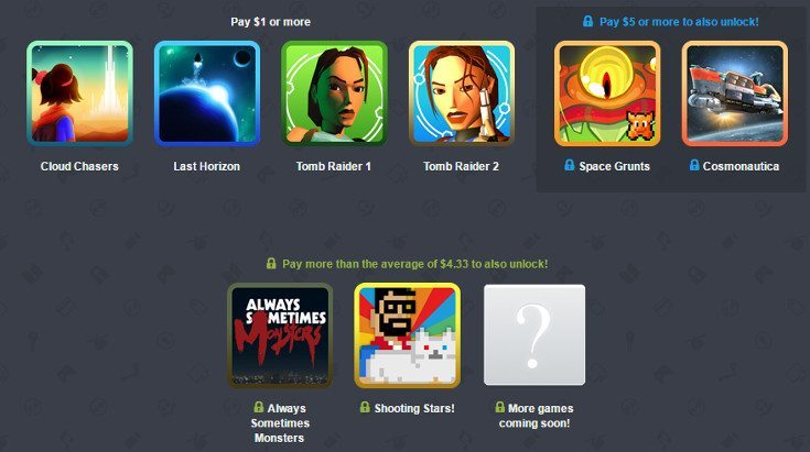 Humble Mobile Bundle 20 lands with Tomb Raider, Cosmonautica and more!