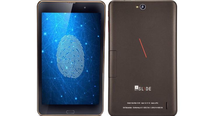 iBall Slide Bio-Mate tablet announced for India with Fingerprint Sensor