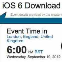 iOS 6 download, public worldwide times