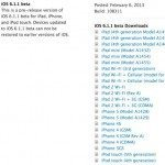 iOS 6.1.1 beta released probably to kill evasi0n jailbreak