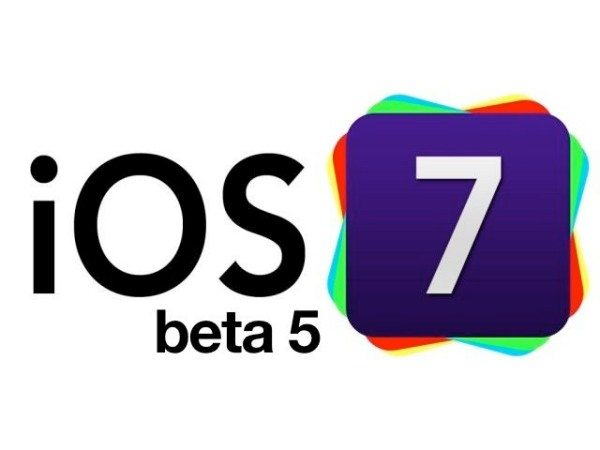 iOS 7 Beta 5 vs. 6.1.4 on iPhone 5 for apps
