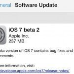iOS 7 beta 2 full changelog for iPhone, iPad and mini