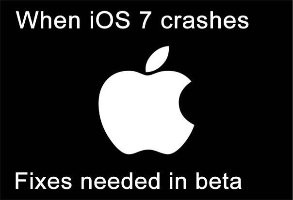 iOS 7 beta 4 fixes iPhone 4S, 5 crashing