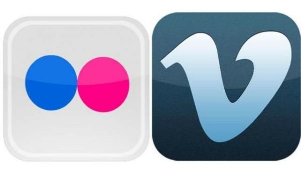 iOS 7 features- deep integration of Flickr and Vimeo pic 1