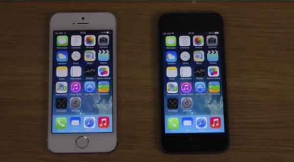 iOS 7.1 Beta 3 vs iOS 7.0.4 video review