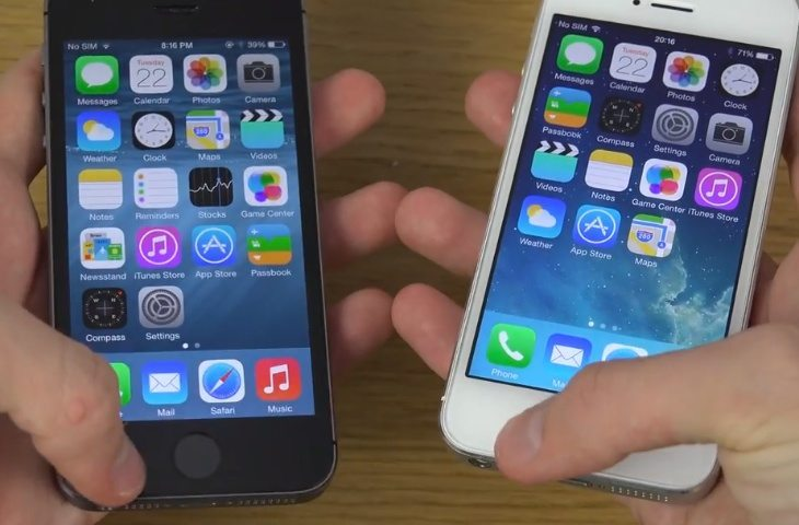 ios 8 on iphone 4 ios 8 beta 4 vs ios 7 1 2 speed on iphone 5s 17327