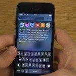 iOS 8 beta hands on video look
