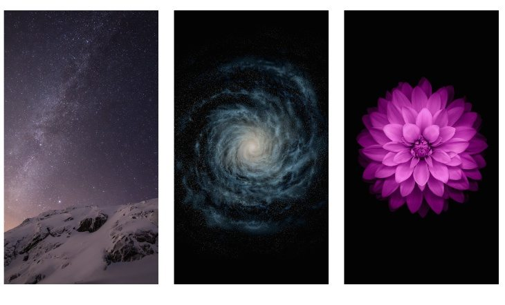 iOS 8, iPhone 6 wallpapers downloads available