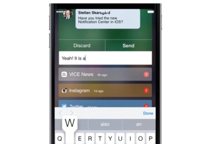 This iOS 8 Notifications Centre design should come to iOS 9