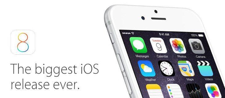 iOS 8 public release time b