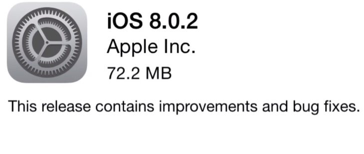 iOS 8.0.2 positivity with iPhone 6 fix