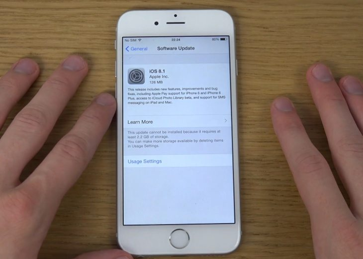 iOS 8.1 release changes