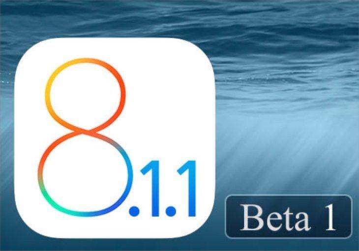 iOS 8.1.1 update release