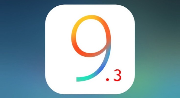 iOS 9.3 beta 5 release and further changes