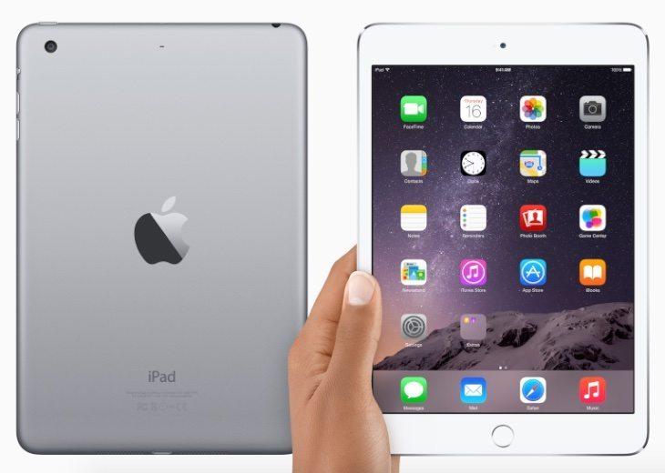 iPad Air 2, Mini 3 India b