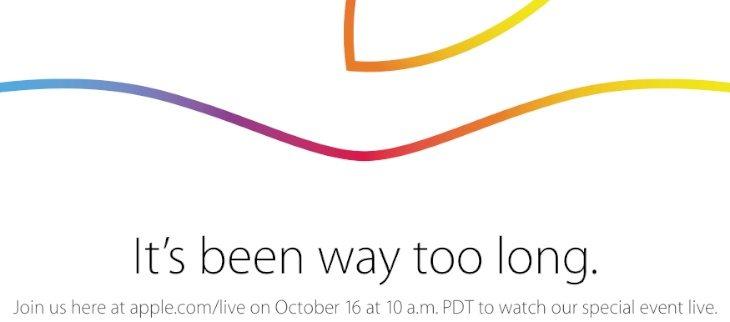 iPad event b