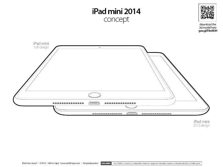 iPad mini 3 renders d