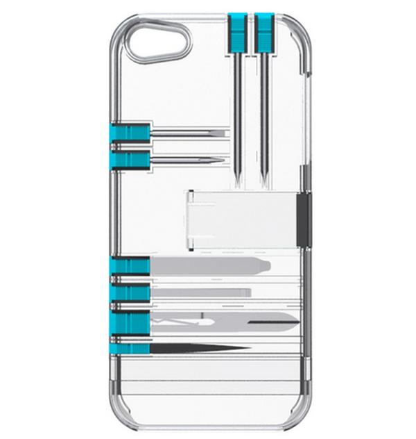 iPhone 5, 5S IN1 multi-tool utility case