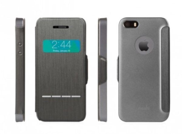 iPhone 5, 5S case with unique touch-sensitive cover