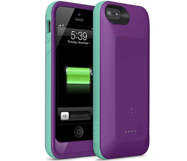 iPhone 5 Grip Case from Belkin brings double battery life