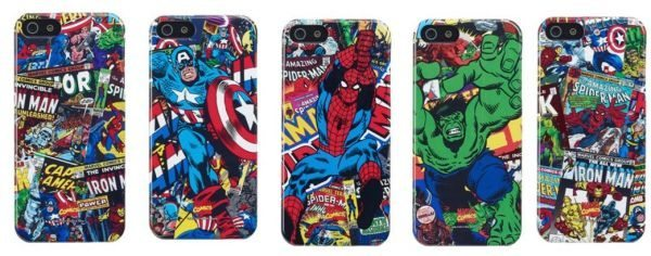 iPhone 5 Marvel Comic Cases by Anymode