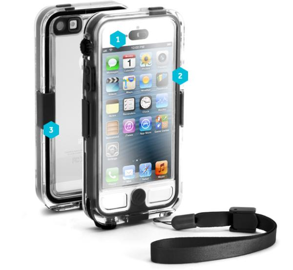 iPhone 5 Survivor + Catalyst case for adventurers