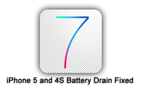 what is draining my iphone battery iphone 5 vs 4s battery drain on ios 7 fixed 19553
