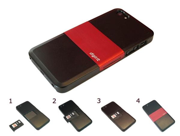 iPhone 5 dual SIM case worth funding
