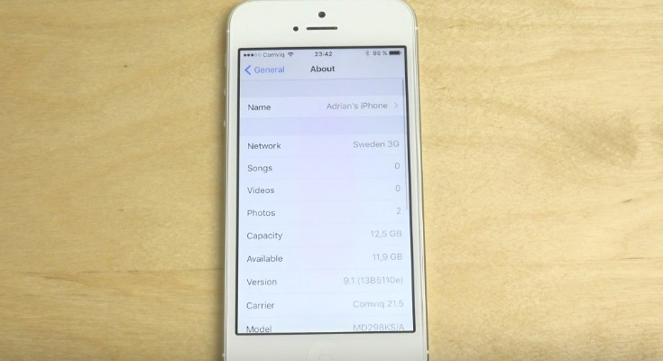 iPhone 5 iOS 9.1 beta 1 review