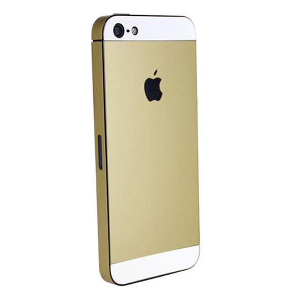 iPhone 5 upgrade kit brings 5S gold look