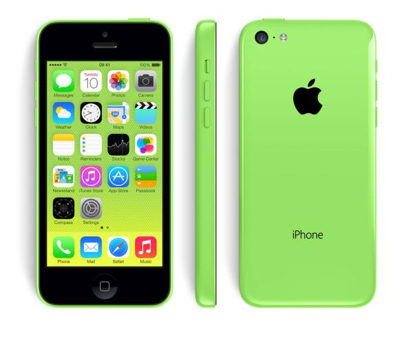 iPhone 5C 16GB now available free
