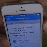 iPhone 5S benchmark internet speed test