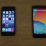iPhone 5S iOS 8 vs Nexus 5 Android 4.4.3 speed test