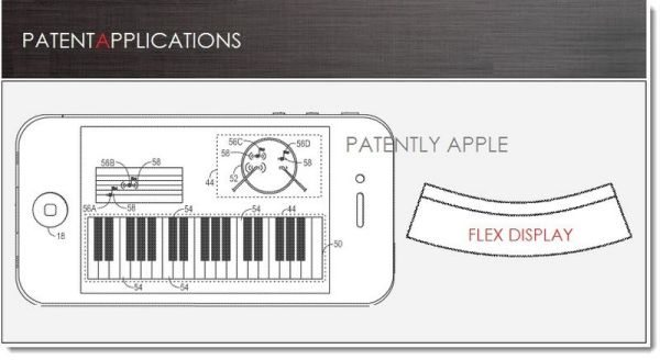 iPhone 5S or 6 flexible display with serious feedback pic 1