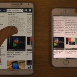 iPhone 5S vs galaxy note 3 browser speeds