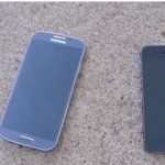 iPhone 5S vs. Galaxy S4 in drop test