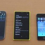iPhone 5S vs. Galaxy S4 vs. Lumia 1020 battery life tests